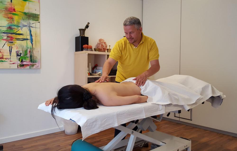 Akupunkt-Massage